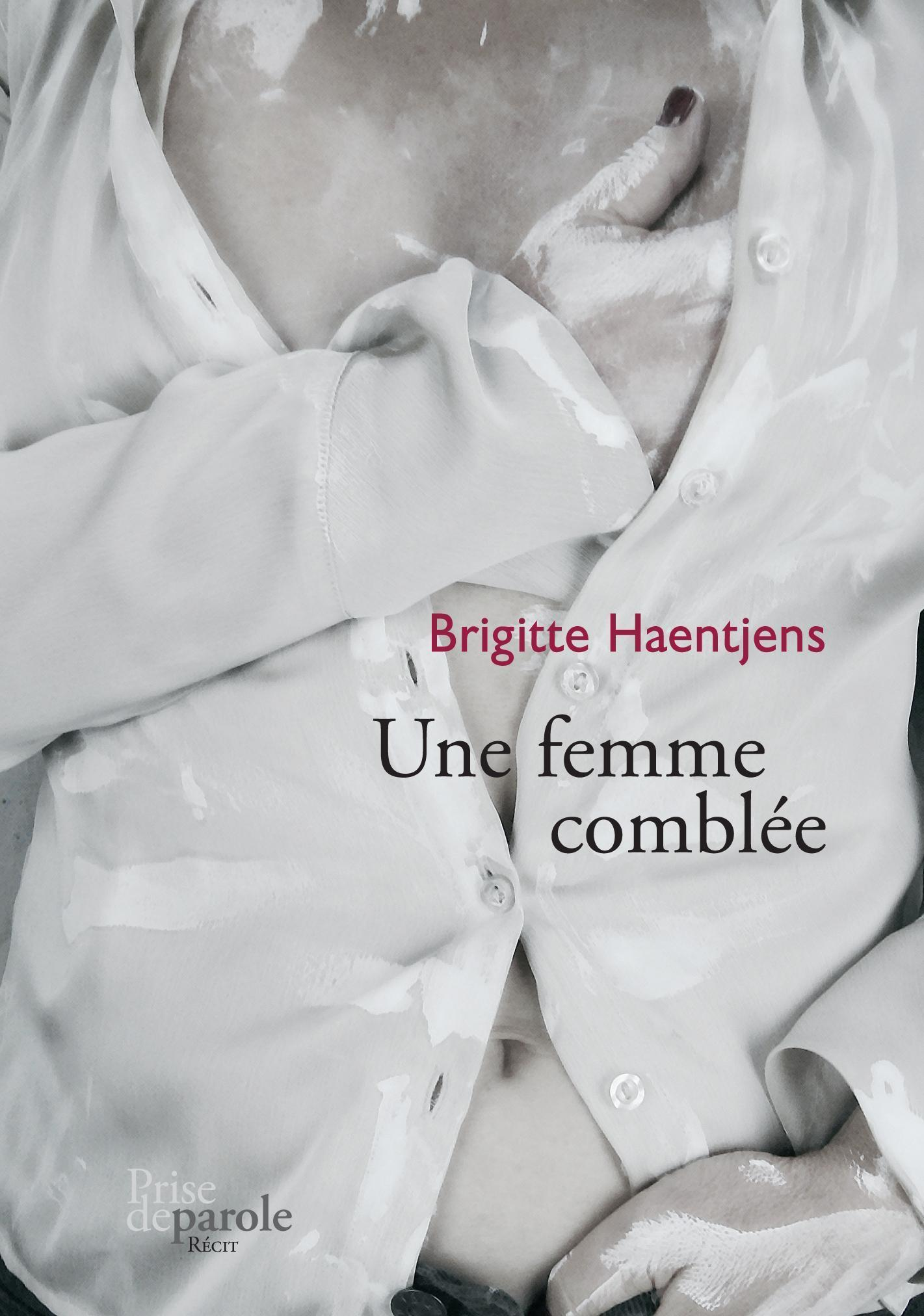 Couverture : Une femme comblée Brigitte Haentjens