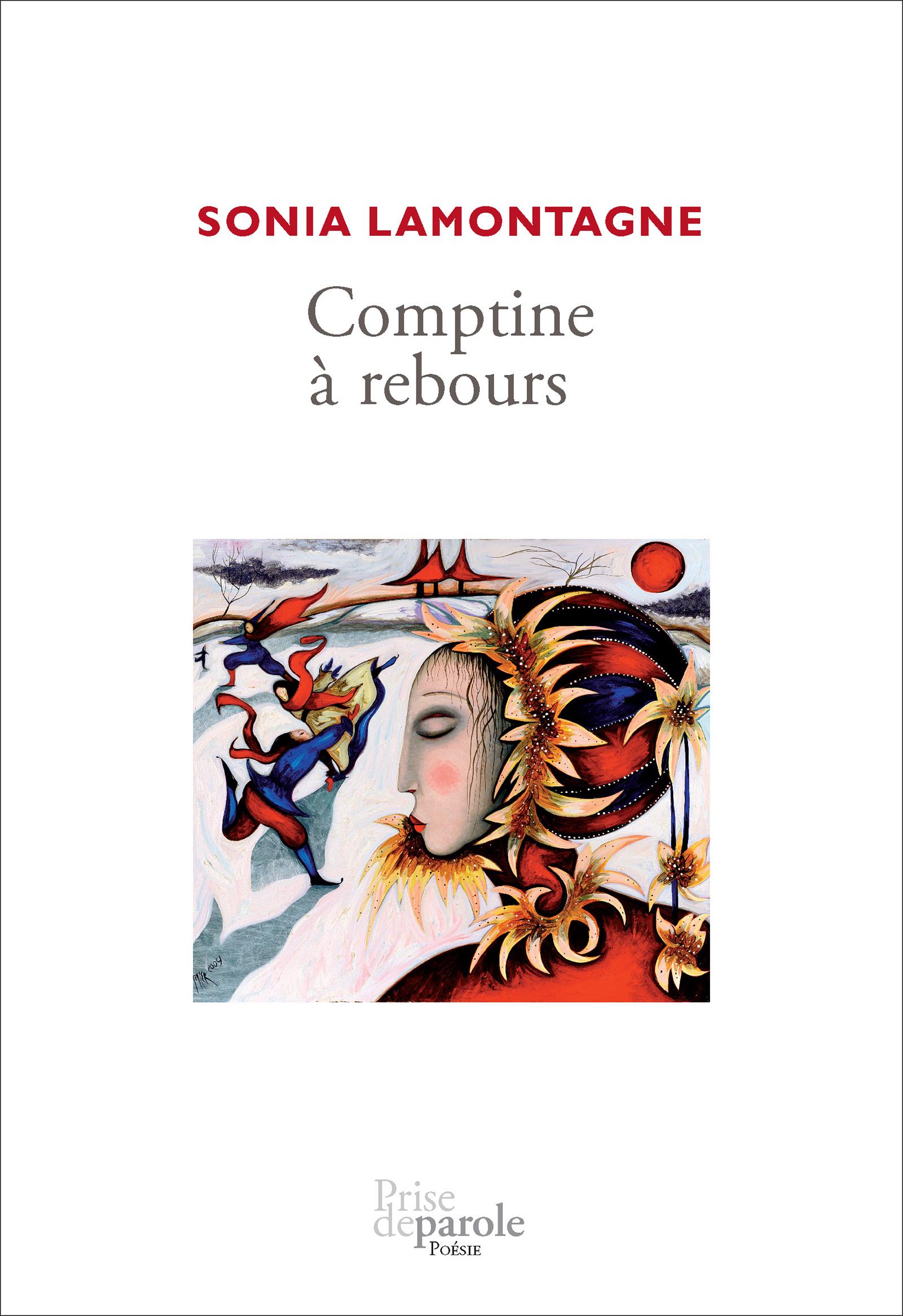 Couverture : Comptine à rebours Sonia Lamontagne