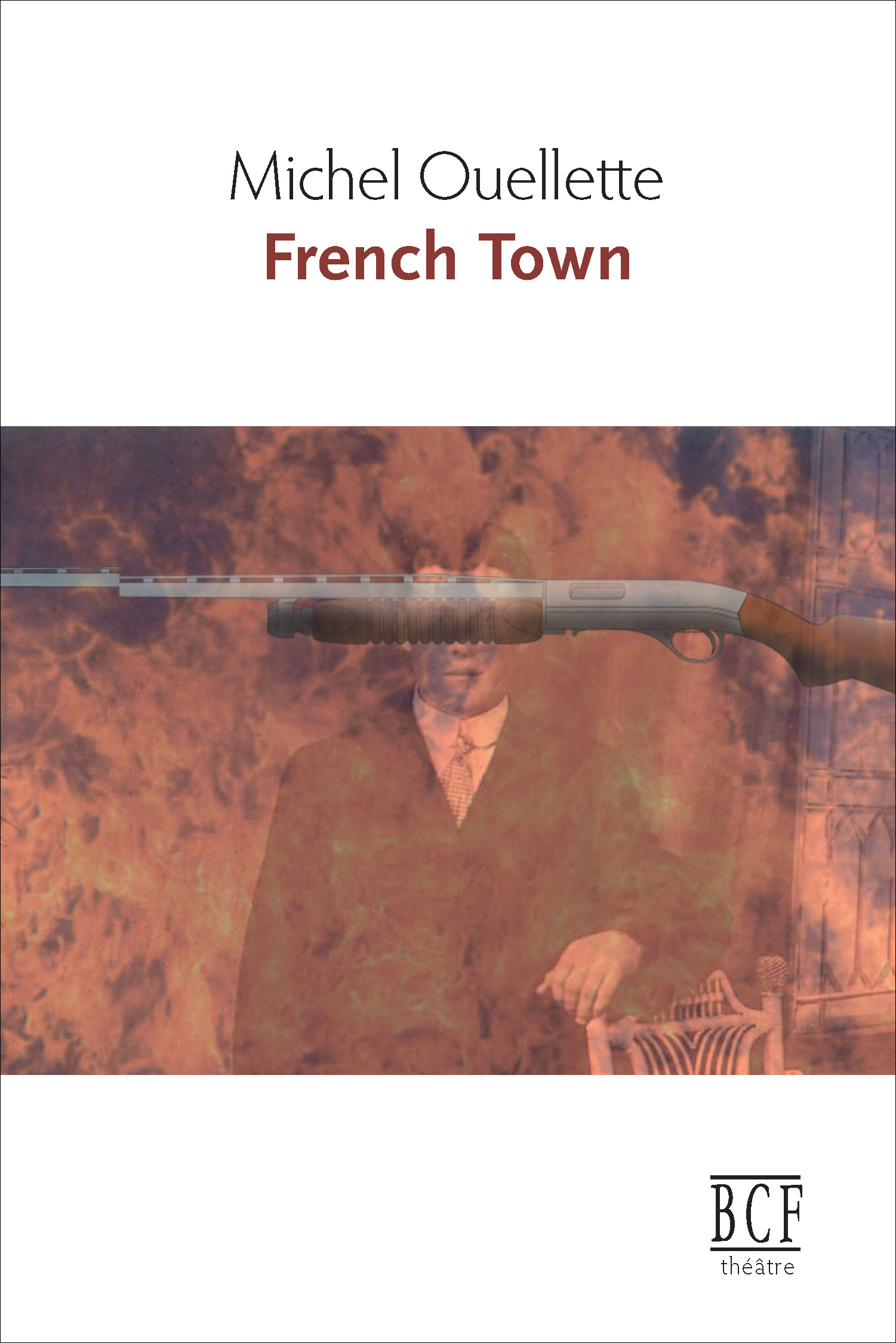 Couverture : French Town Michel Ouellette