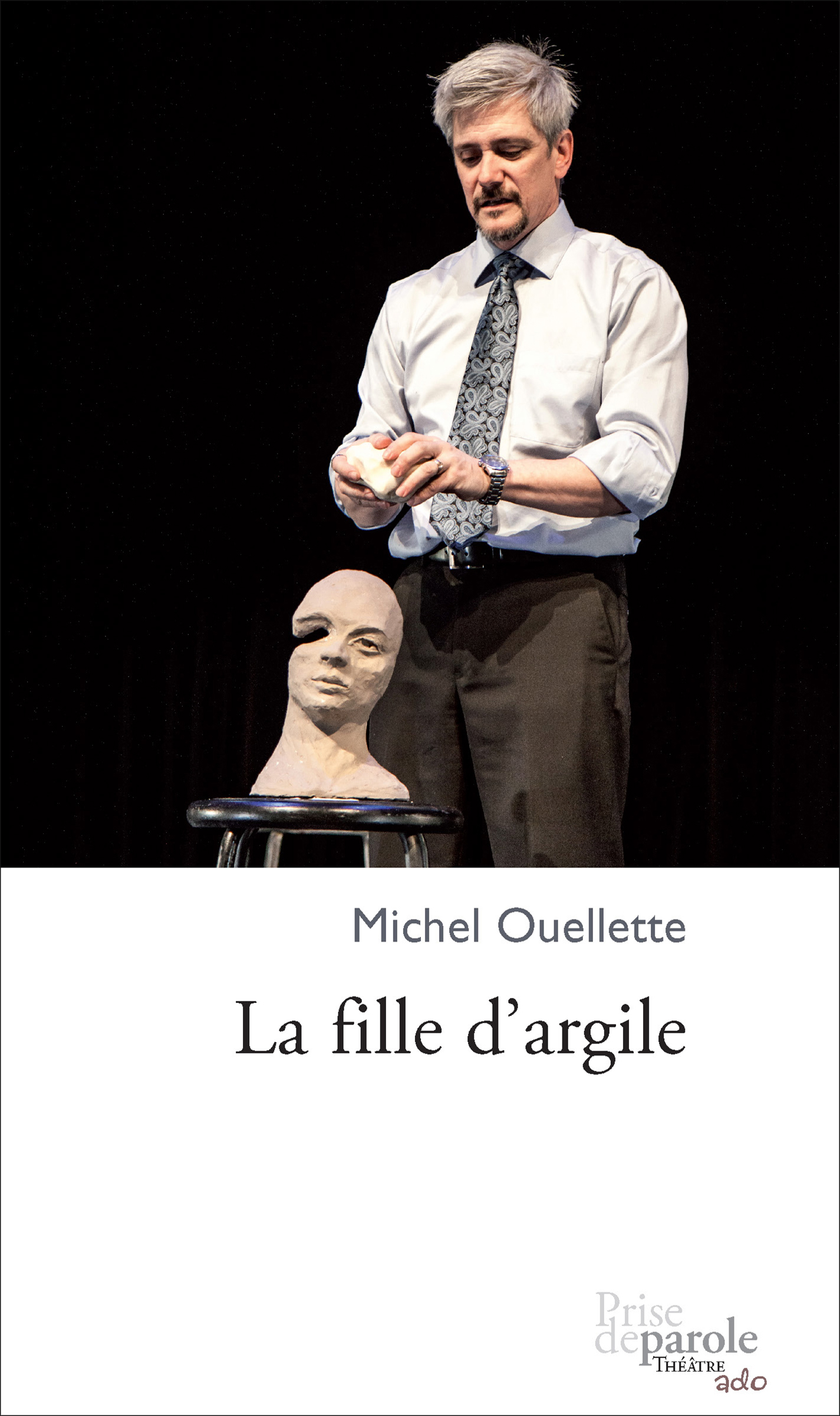 Couverture : Fille d'argile (La) Michel Ouellette