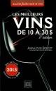 Couverture : Les meilleurs vins de 10 à 30$ Jean-louis Doucet
