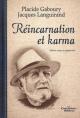 Couverture : Réincarnation et karma Placide Gaboury, Jacques Languirand