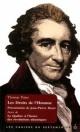 Couverture : Droits de l'Homme (Les) Thomas Paine