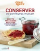 Couverture : Conserves et confitures maison: nos 175 meilleures recettes...