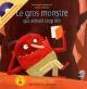 Couverture : Gros monstre qui aimait trop lire (Le) (livre + CD) Lili Chartrand,  Rogé