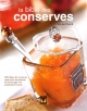Couverture : Bible des conserves (La) Louise Rivard