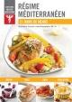 Couverture : Régime méditerranéen : 21 jours de menus Nathalie Verret