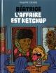 Couverture : Béatrice T.1 L'affaire est ketchup Philippe Girard