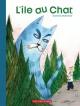 Couverture : L'île au chat Isabelle Malenfant