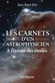 Couverture : Carnets d'un astrophysicien (Les) Jean-rené Roy