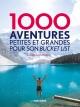 Couverture : 1000 aventures petites et grandes pour son bucket list Kath Stathers