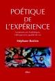 Couverture : Poétique de l'expérience Stéphane Bastien