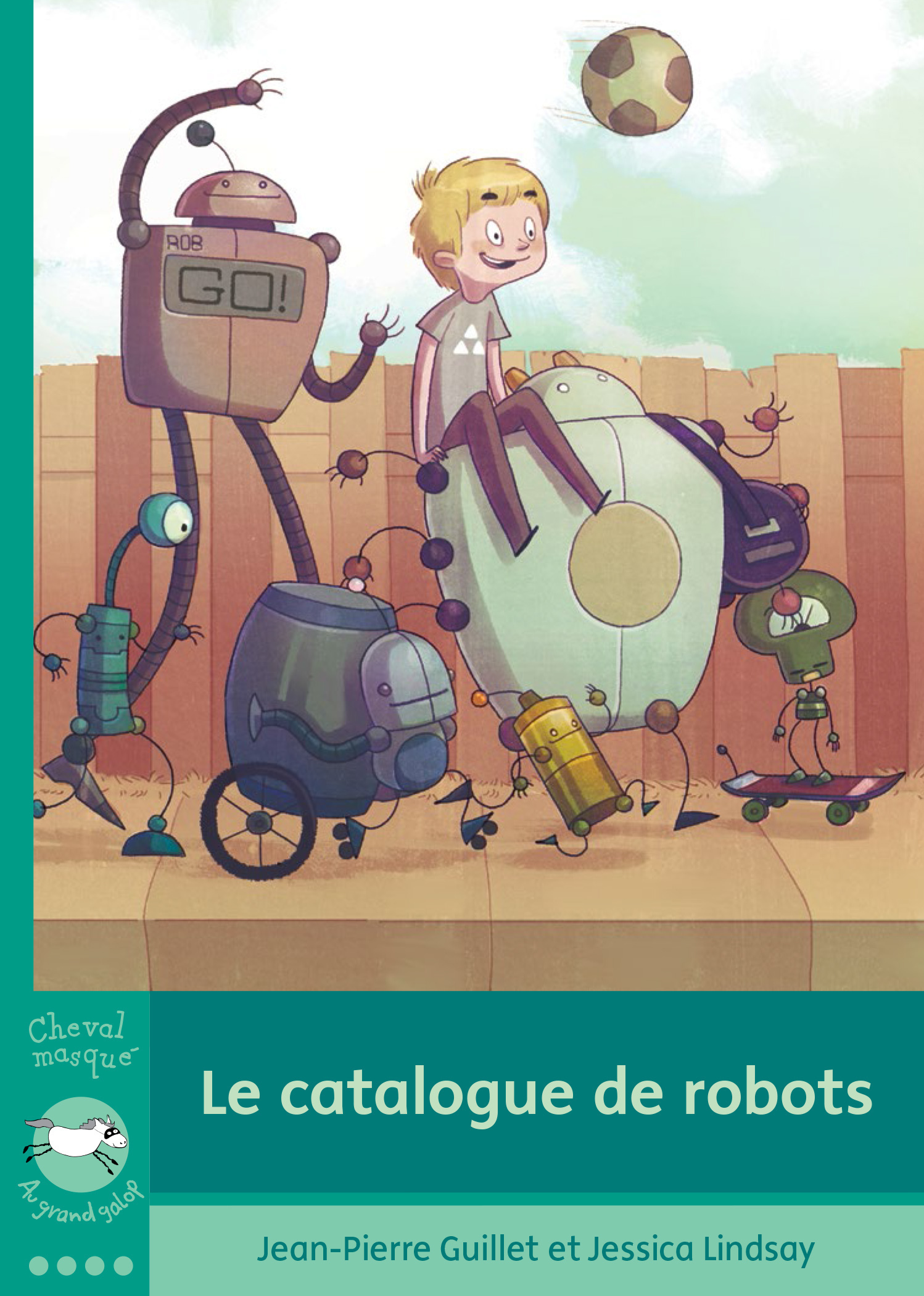 Couverture : Catalogue de robots (Le) Jessica Lindsay, Jean-pierre Guillet