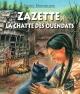 Couverture : Zazette, la chatte des Ouendats Daniel Marchildon, Adeline Lamarre