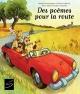 Couverture : Des poèmes pour la route Caroline Merola, Robert Soulières, Nadine Descheneaux, Pierre Labrie, Colombe Labonté