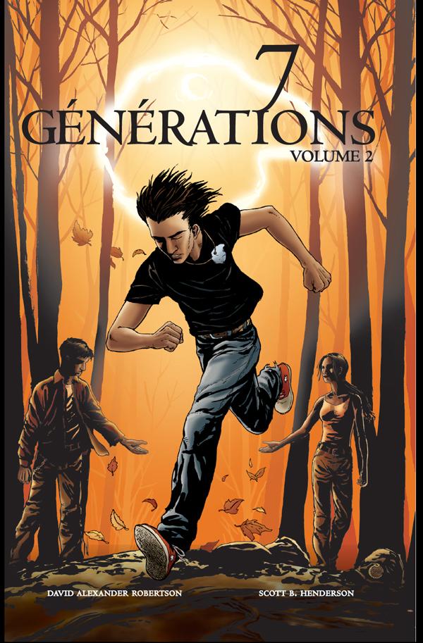 Couverture : 7 générations T.2 : Pacte Scott B. Henderson, David Alexander Robertson