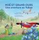 Couverture : Noé et Grand-Ours. Une aventure au Yukon Danielle S. Marcotte, Francesca Da Sacco