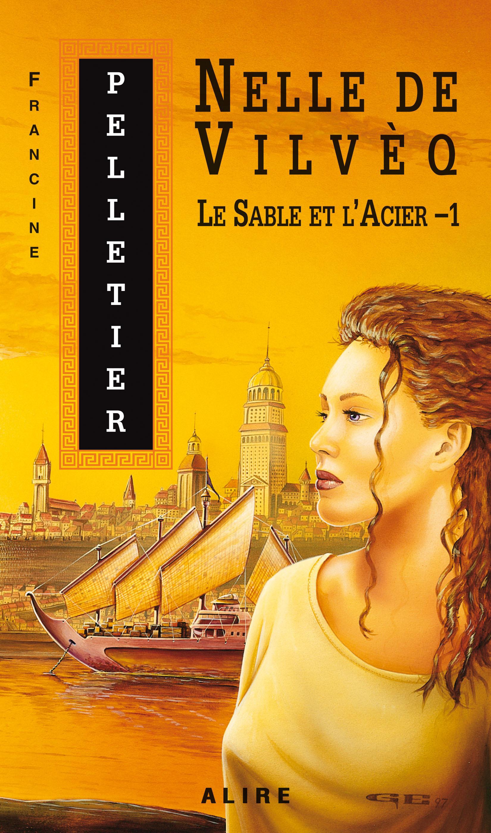 Nelle de Vilveq - Tome 1 - Francine Pelletier revers