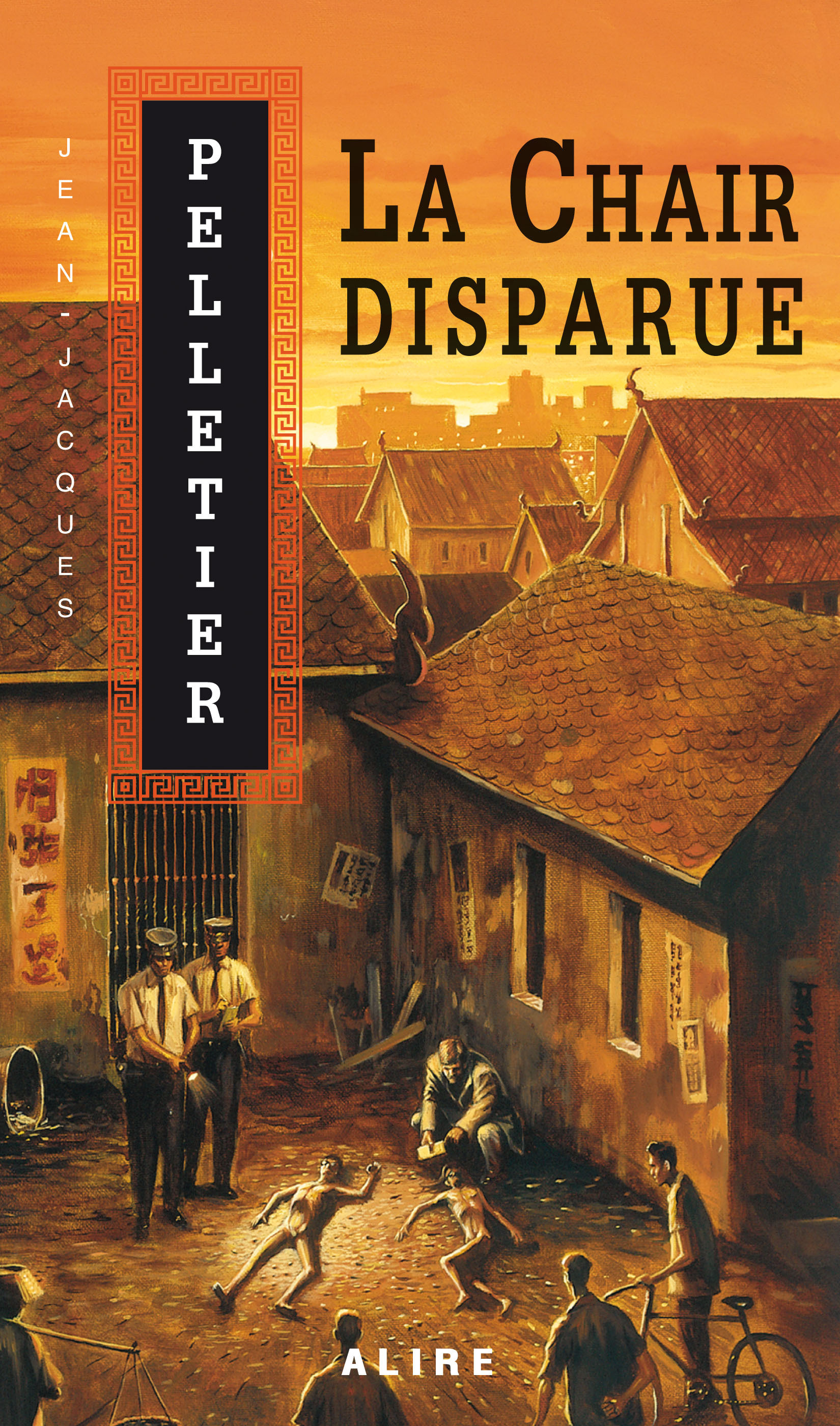 Couverture : La chair disparue  T.1 Jean-jacques Pelletier