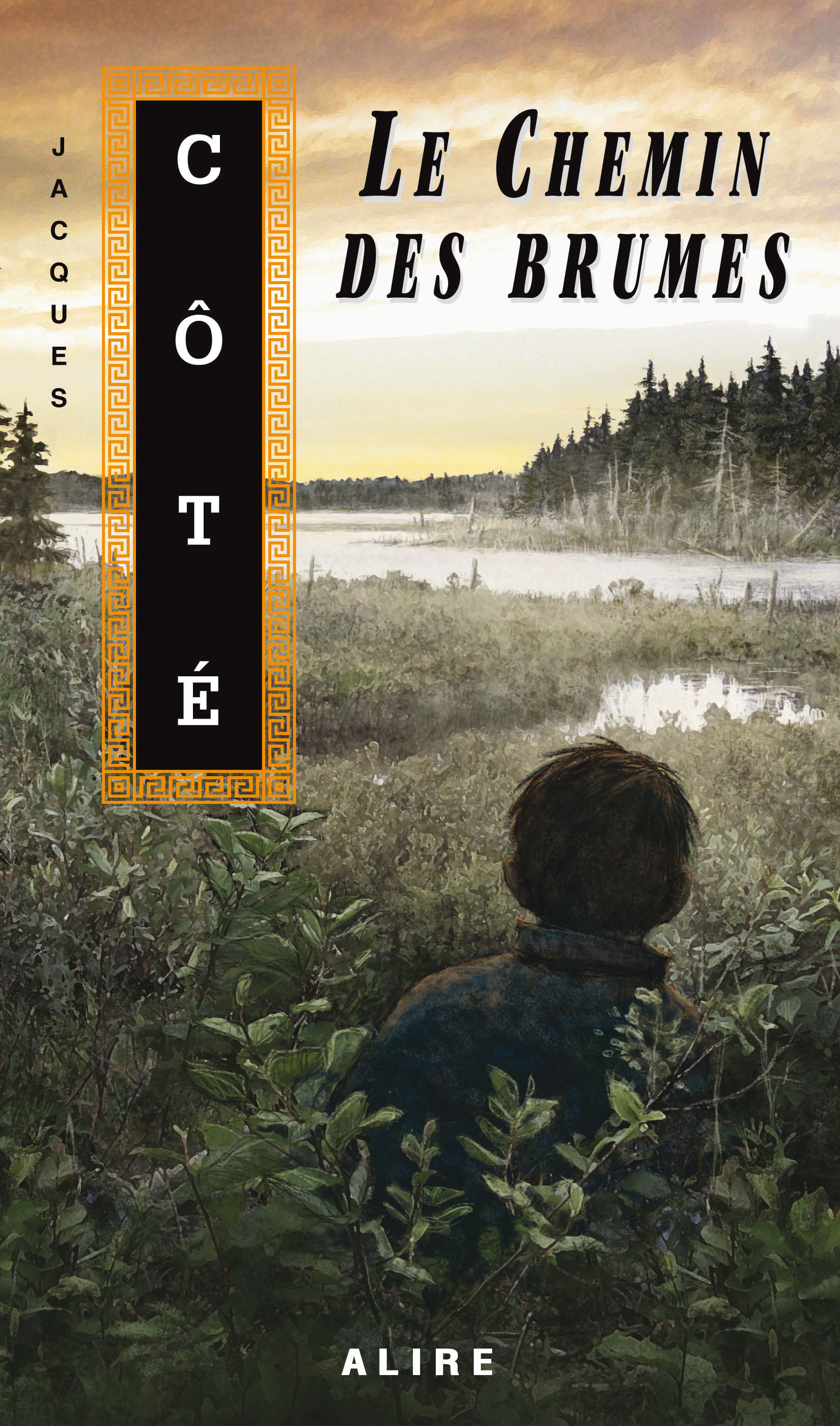 Couverture : Chemin des brumes (Le) Jacques Côté