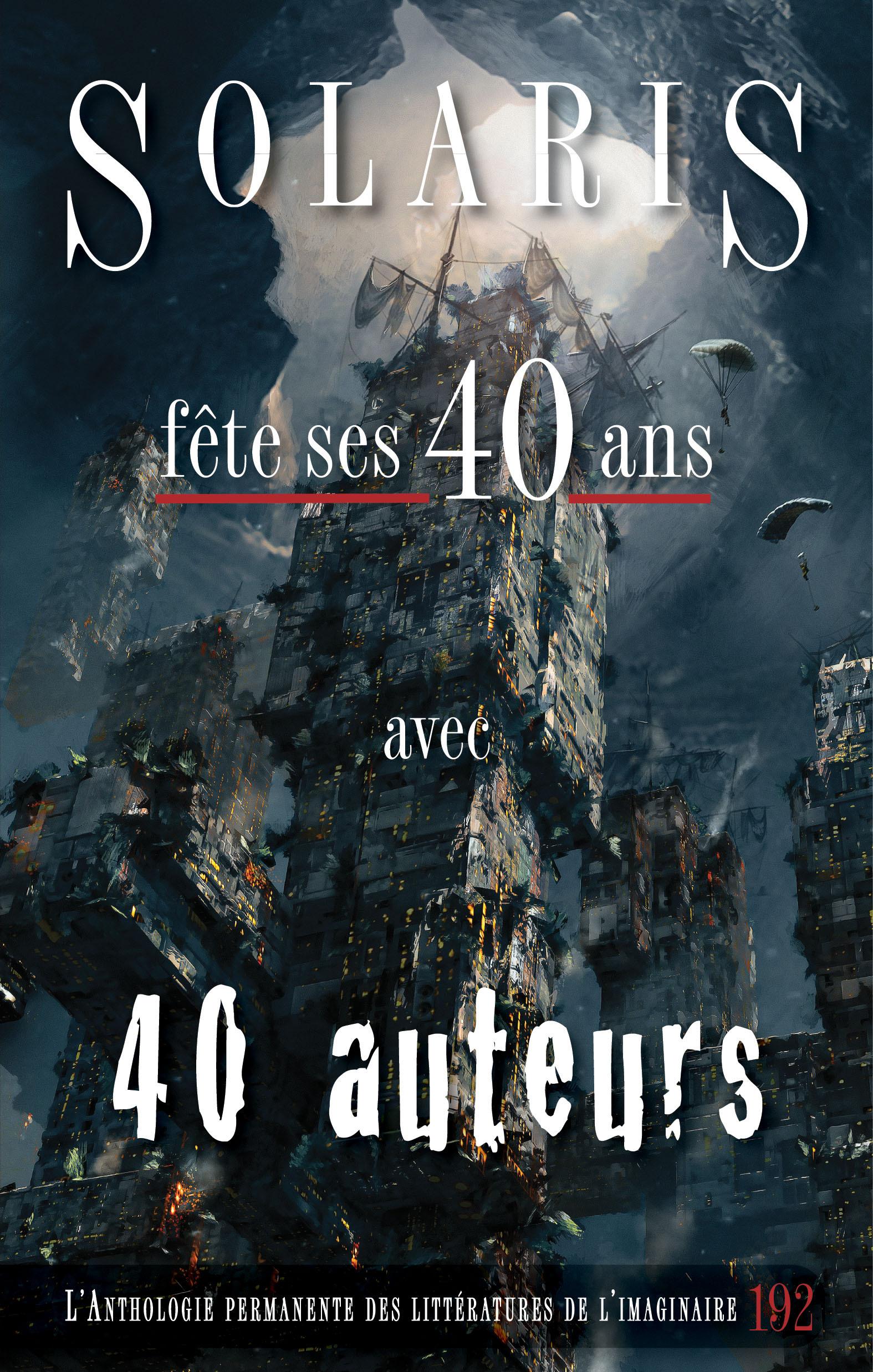 Couverture : Revue Solaris, No 192