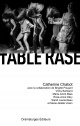 Couverture : Table rase Catherine Chabot
