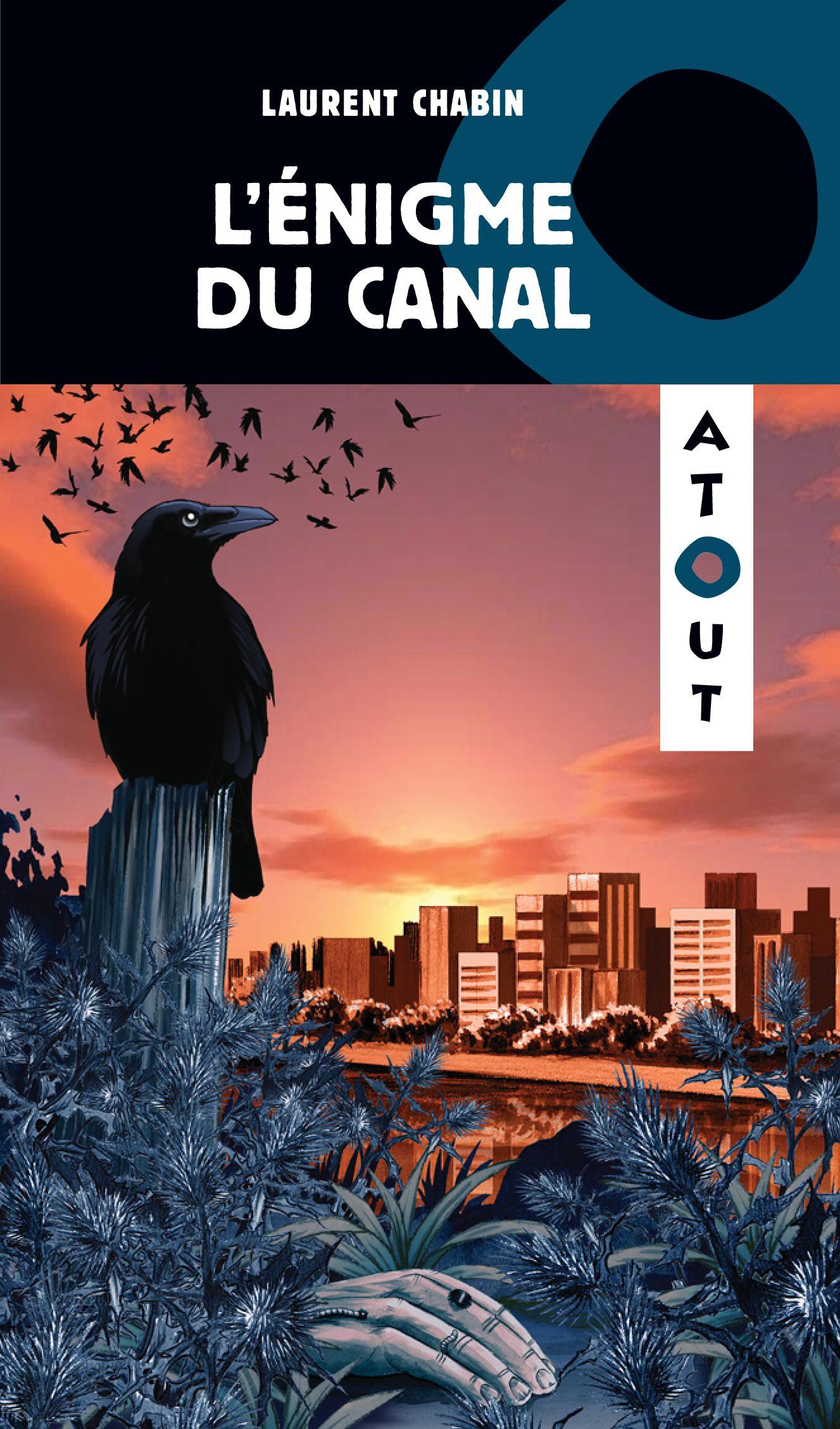 Couverture : Énigme du canal (L') Laurent Chabin