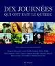Couverture : Dix journées qui ont fait le Québec
