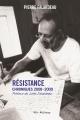 Couverture : Résistance: Chroniques 2008-2009 Pierre Falardeau, Jules Falardeau