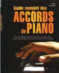 Vignette du livre Guide complet des accords de piano