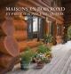 Couverture : Maisons en bois rond et pièce sur pièce du Québec Perry Mastrovito