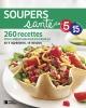 Couverture : Soupers santé en 5 ingrédients, 15 minutes Magali Laurent