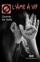 Couverture : L'âme à vif Corinne De Vailly