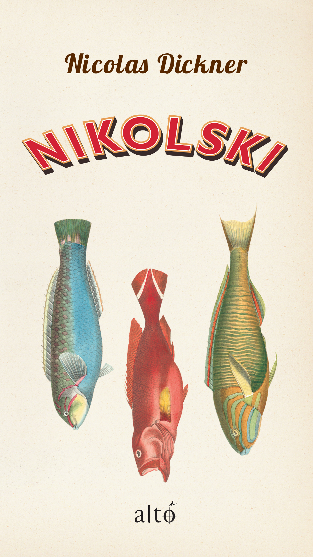 Couverture : Nikolski Nicolas Dickner