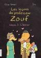 Couverture : Les leçons du professeur Zouf T.3: Leçon 3 : l'amour Élise Gravel,  Iris