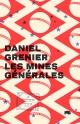 Couverture : Mines générales (Les) Daniel Grenier