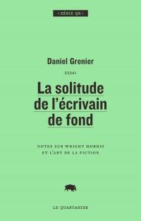 La solitude de l'écrivain de fond