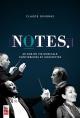 Couverture : Notes : 60 ans de vie musicale : confidences et anecdotes Claude Gingras