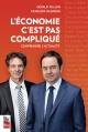 Couverture : L'économie, c'est pas compliqué: comprendre l'actualité Gérald Fillion, François Delorme