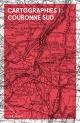 Couverture : Cartographies T.1 : Couronne Sud Éric Godin, Nicholas Dawson, Annie Dulong, Mathieu Leroux, Guillaume Bourque