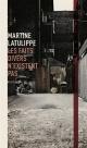 Couverture : Faits divers n'existent pas (Les) Martine Latulippe