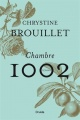 Couverture : Chambre 1002 Chrystine Brouillet