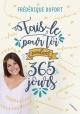 Couverture : Fais-le pour toi pendant 365 jours Frédérique Dufort