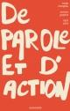 Couverture : De parole et d'action Serge Mongeau