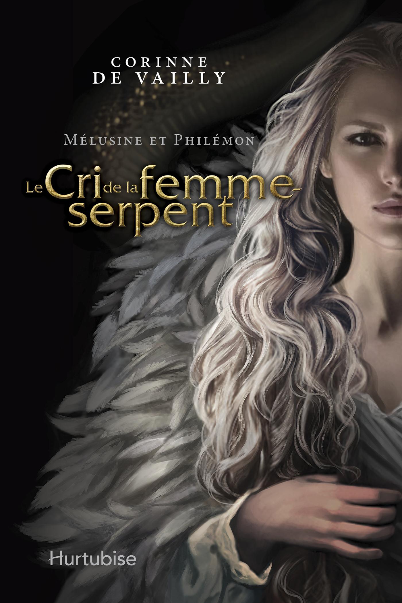 Couverture : Mélusine et Philémon T.4 : Le cri de la femme-serpent Corinne De Vailly