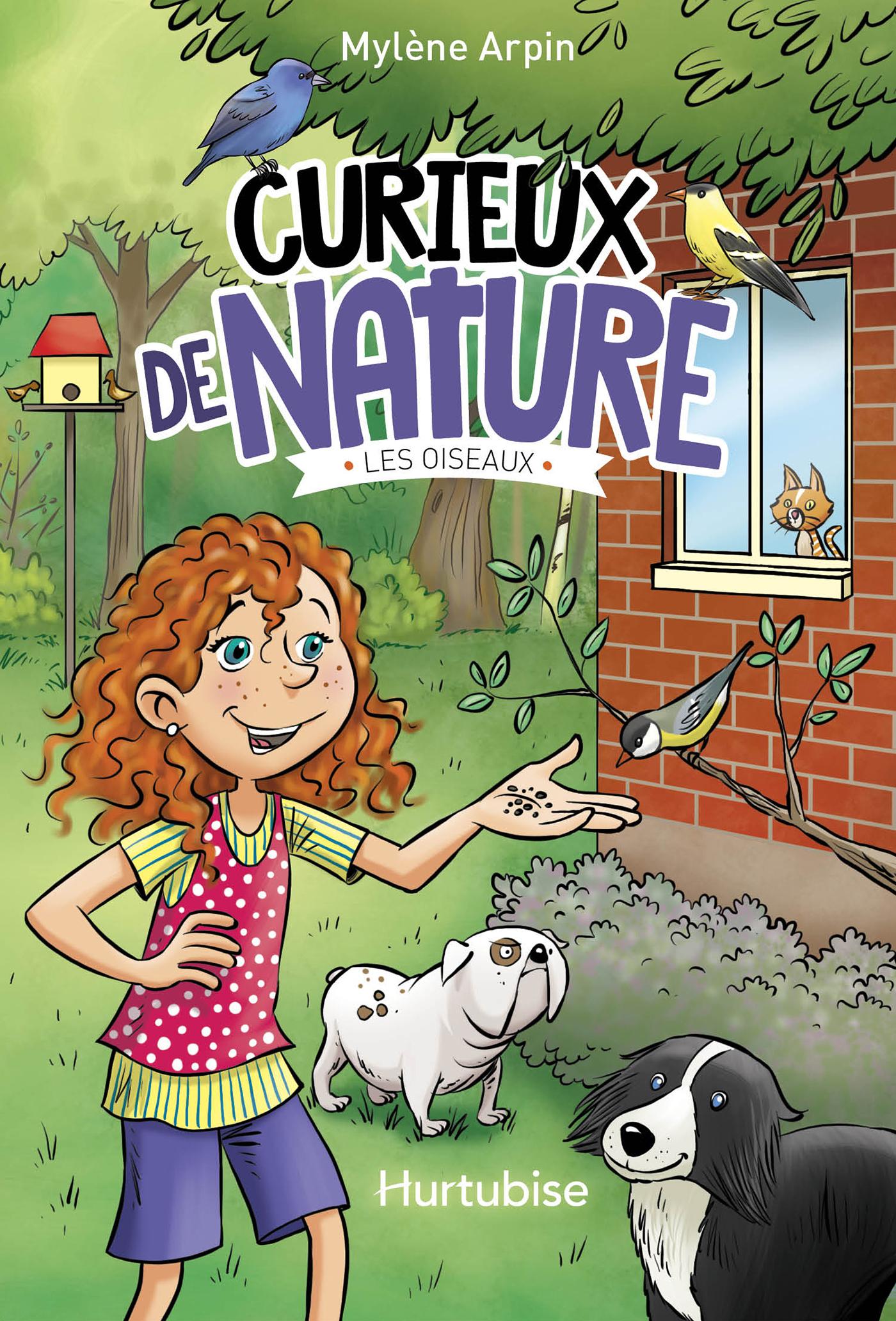 Couverture : Curieux de nature T1 - Les oiseaux Mylène Arpin