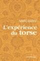 Couverture : L'expérience du torse Marc Babin