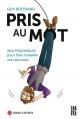 Couverture : Pris aux mots : jeux linguistiques... Guy Bertrand