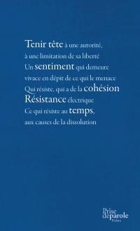 Poèmes de la résistance