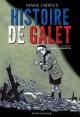 Couverture : Histoire de galet François Dimberton, Marie Cadieux